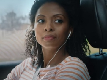 Woman in Allstate Insurance Commercial