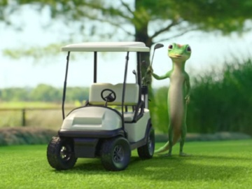 GEICO Golfing Commercial