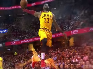 Goodyear Commercial - Cleveland Cavaliers