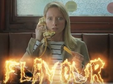 Sarah in McCoy's Chip Shop TV Advert