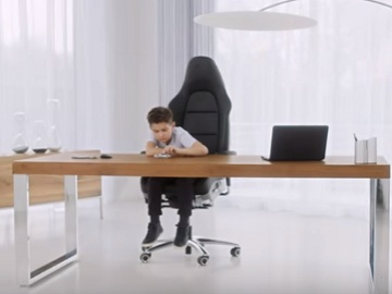 Porsche Office Chair Commercial