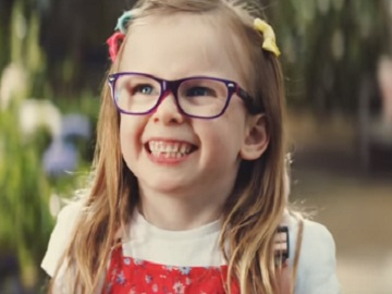 Girl in Asda TV Advert