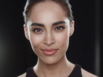 Woman in Olay Commercial