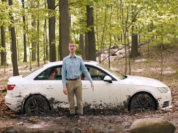 AT&T Commercial - Car Stuck in Mud