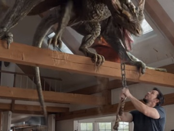 Mark Wahlberg vs. Dragon - AT&T DIRECTV Now Commercial