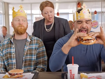 Mushroom & Swiss King Sandwich - Burger King Commercial