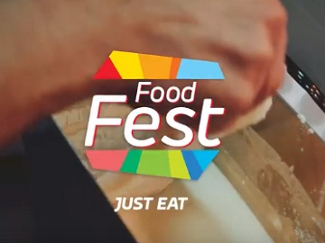 Just Eat TV Advert: Food Fest