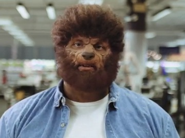 Sears Fitness Werewolf Commercial