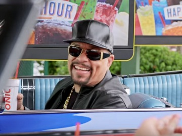 Ice-T in Sonic Drive-In Commercial