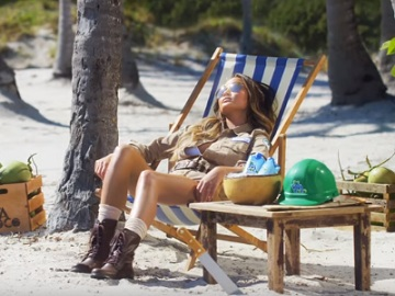 Chrissy Teigen - Vita Coco Coconut Water Commercial