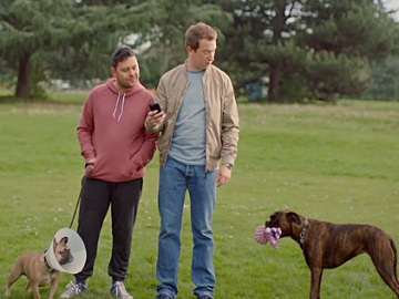 ClearScore Advert: Charlie & Moose in the Park