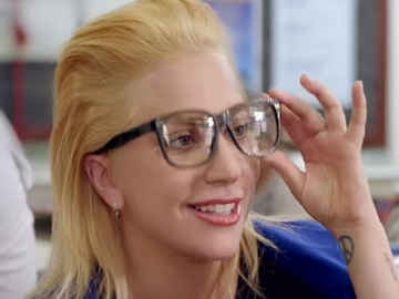 Lady Gaga in Staples Commercial