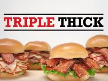 Arby's Sandwiches Commercial - Triple Thick