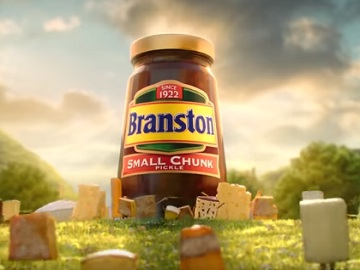 Branston Pickle Cheese Advert