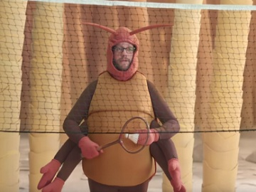 GEICO Fleas Playing Badminton Commercial