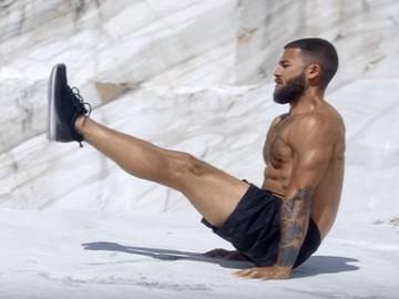Man in H&M Sportwear Commercial