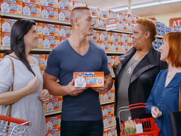 Hefty Ultra Strong John Cena Commercial