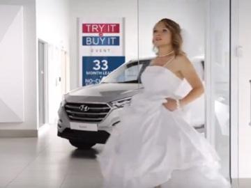 Hyundai Commercial: Runaway Bride