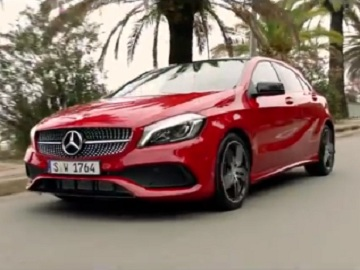 Mercedes-Benz A-Class TV Advert