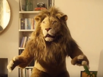 IKEA Lion Man Advert