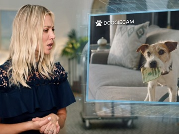 Kaley Cuoco in Priceline Commercial