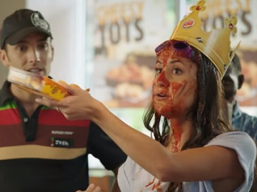 Burger King Cheesy Tots Commercial