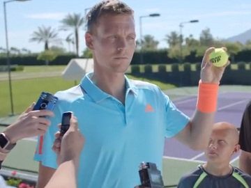 HEAD Tomas Berdych Commercial