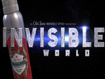 Old Spice Commercial: Invisible World