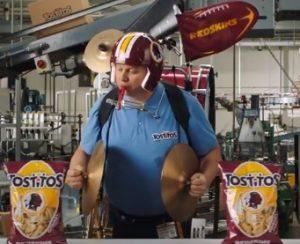 Tostitos Commercial: Washington Redskins
