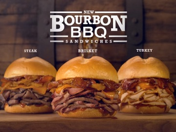 Arby's Commercial: Bourbon BBQ Sandwiches