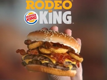 Burger King Rodeo King Commercial