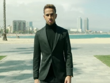 Hugo Boss Lewis Hamilton Commercial