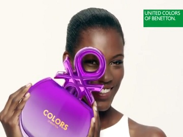 Girl in United Colors of Benetton Commercial
