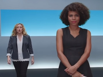 Women in AT&T iPhone 8 Commercial
