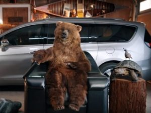 Chrysler Bear Commercial