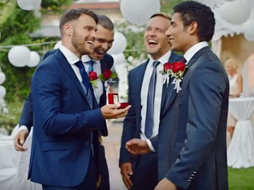 Colgate Total Wedding Commercial
