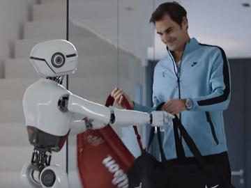 Jura Commercial - Roger Federer & Robot