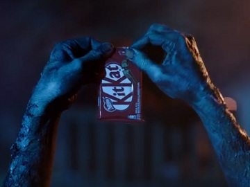 KitKat Halloween Commercial - Hands Stealing KitKat