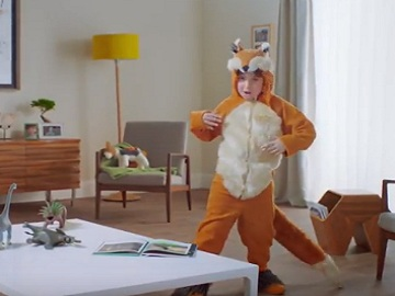 Mastercard Commercial - Fox Costume
