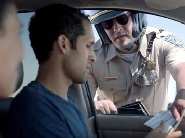 MetroPCS Commercial - Couple Stopped by Highway Patrol