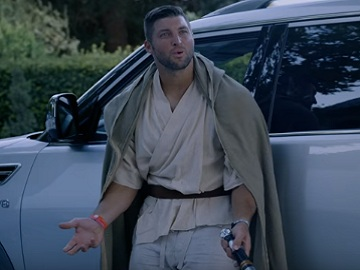 Nissan Tim Tebow Halloween Party Commercial