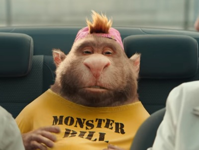GoCompare Monster Bill Advert - Porky Passenger in the ...