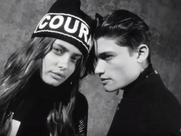 Gigi Hadid - Versace Commercial
