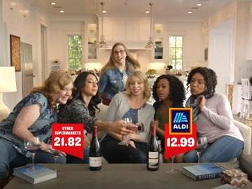 Women in Aldi Commercial