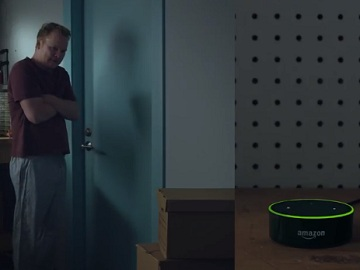 Amazon Echo Dot Commercial