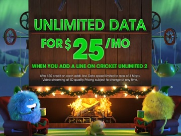 Cricket Wireless Christmas Commercial