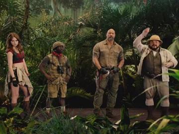Dave & Buster's Jumanji Cast Commercial