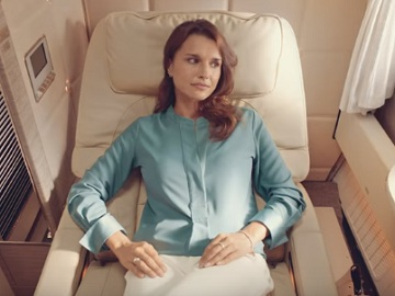 Emirates Commercial - New Emirates First Class Suite