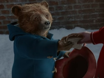 Paddington in M&S Christmas Advert