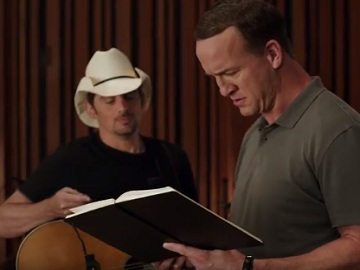 Peyton Manning - Nationwide Jingle Sessions Commercial